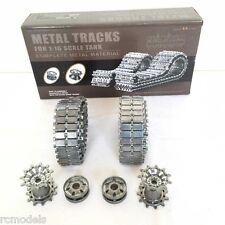 Heng Long  Challenger 2 Metal Tracks + Sprockets+Iders Upgrade Kit UK