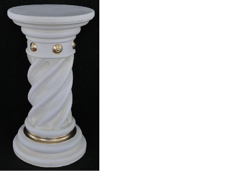 Grecque antique Style piliers pilier chronique support de fleurs décoration deco 1014
