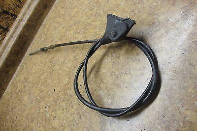 1983 1984 1985 1986 1987 Suzuki LT125 LT 125 Quadrunner Rear Hand Brake Cable
