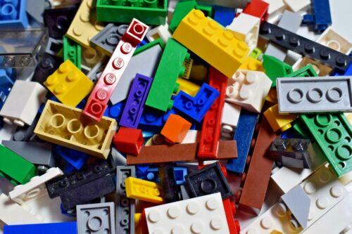 1 Mini Figure RANDOM JOB LOT LEGO 100x Bricks Plates Slopes Choose your colour