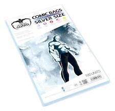 100 pochettes de protection Comics Silver size Volet refermable de 5 cm