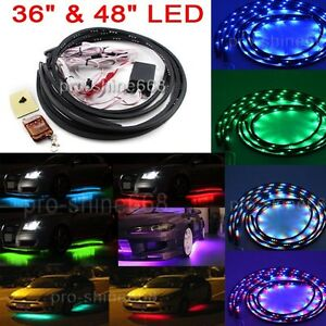rgb color changing fading function led underbody under car light auto general ebay. Black Bedroom Furniture Sets. Home Design Ideas