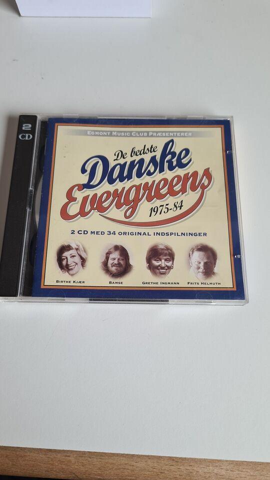 # Various / Diverse: 2CD : De bedste danske evergreens