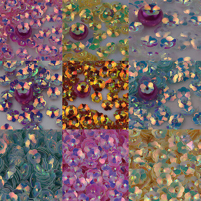 Wholesale 500/1000Pcs Hollow Sequins Flower Shape Bead Caps Jewelry Finding 8mm