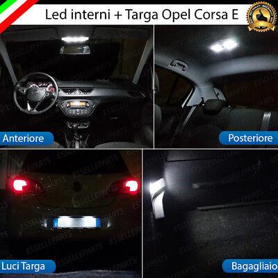 KIT LED INTERNI OPEL CORSA D PLAFONIERA ANTERIORE ALTA LUMINOSITA/'