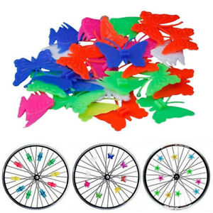 Bicycle Spoke Beads Clip On Bike Wheels Decor DIY Clamps For Children NP2