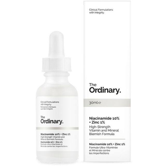 NEW The Ordinary Niacinamide 10% + Zinc 1% 30ml Womens Skin Care