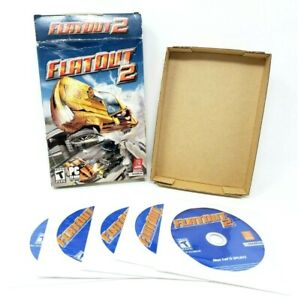 Flat-Out-2-PC-2006-CD-ROM-Game-In-Original-Box