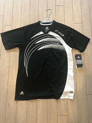 Adidas F50 T Shirt Climalite Gr.152 FB Black White Org. UVP