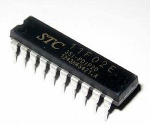 10pcs SCM IC Chips STC11F02E-35I-PDIP20 Original Single Chip Micyoco