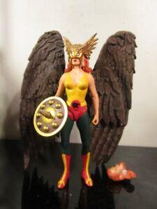 Figurine d'action de la série 6 de la Ligue de la justice directe Alex Ross Série Hawkgirl