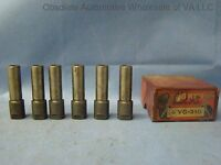 1936 Chevrolet Chevy Gmc Truck 207 Flanged Exhaust Valve Guide Set 6 Cyl
