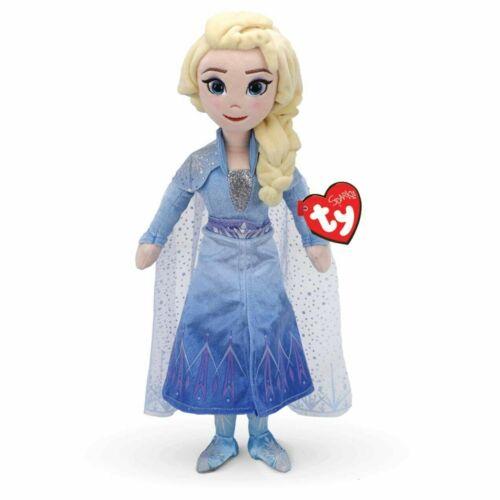 TY Beanie Boo-Frozen 2 Princess Elsa avec Sound 40 cm-même jour envoi