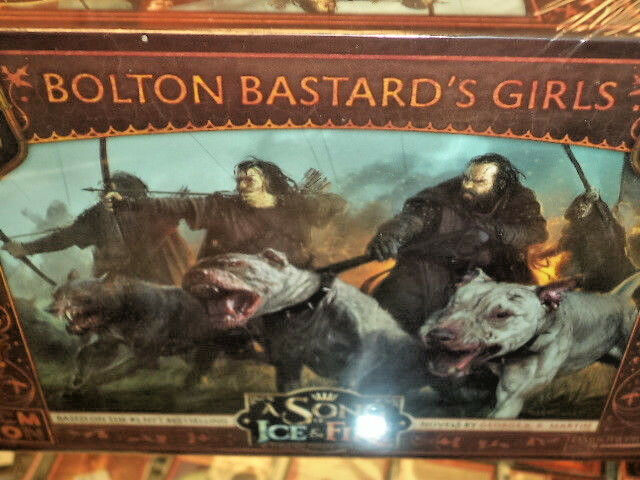 Bolton Bastard's Girls Unit Box Box Unit A Song of Ice & Fire Miniatures Game New 517699