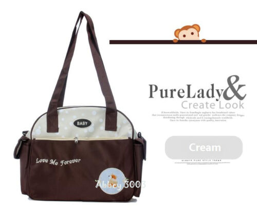 Multifunction Waterproof Baby Nappy Changing Bag 3 Colours Love Me Forever