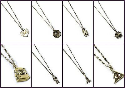 New Official Fantastic Beasts Jewellery Brass Plated Charm Pendant Necklace