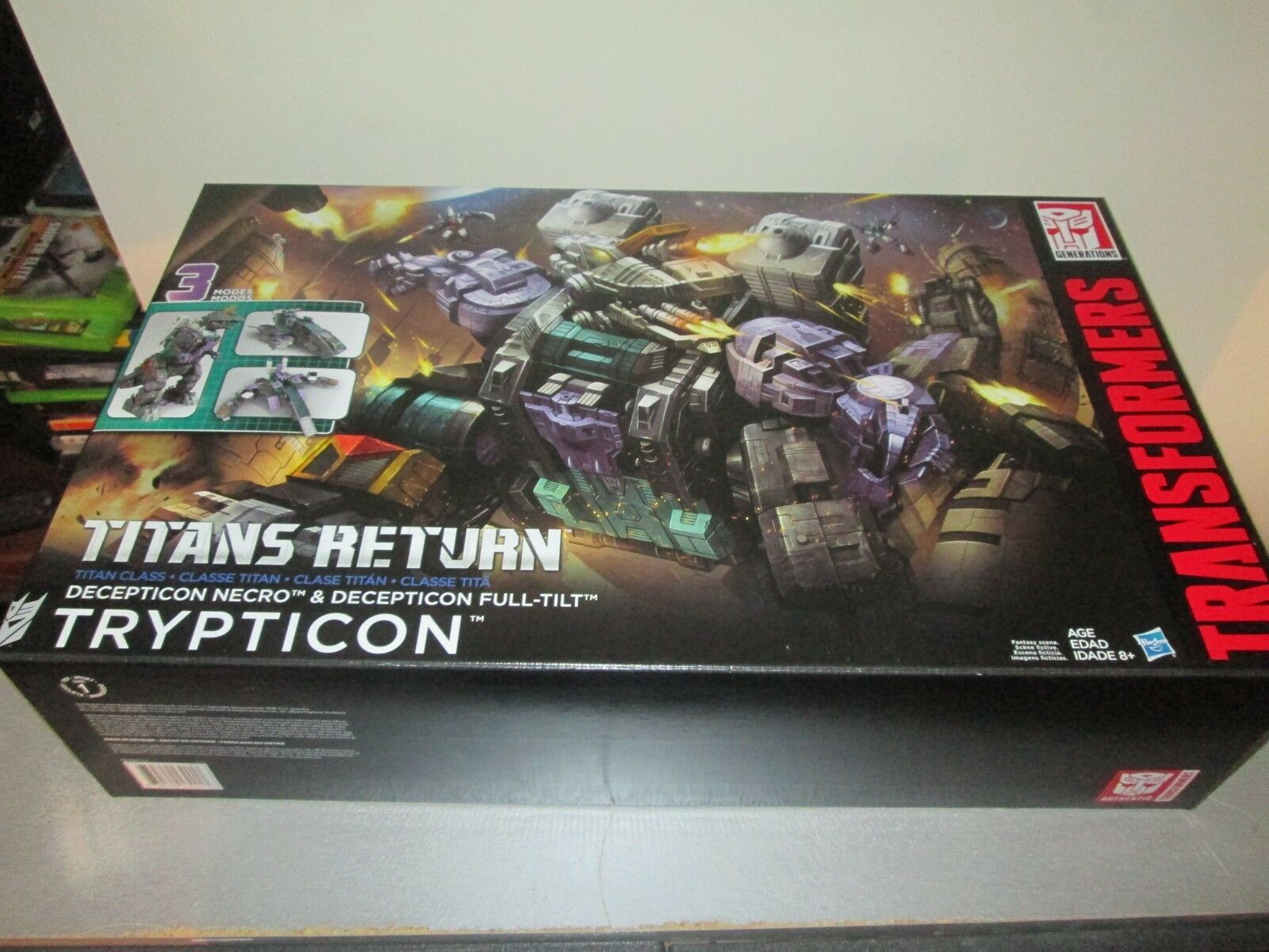 TRANSFORMERS TRYPTICON GENERATIONS TITANS RETURN SEALED BOX NEW