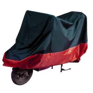 XL-Motorcycle-Motorbike-Waterproof-UV-Protective-Breathable-Cover-Outdoor-Black