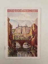 Guide touristique du Grand Duché du Luxembourg (1957)