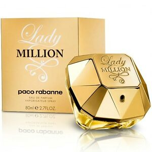 Woman Perfume Paco Rabanne Lady Million 80ml Edp 27 Oz 80 Ml Eau De