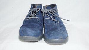 bb3b4c7de95 Details about Kids Ugg Australia Canoe 1014363K Navy Blue Suede Lace Up  Ankle Boot 5M