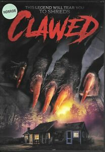 Clawed-DVD-Horror-Chelsey-Crisp-RARE-amp-OOP-WE-COMBINE-SHIPPING-IN-THE-U-S