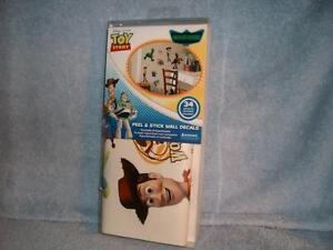Toy-Story-2-3-34-Peel-amp-Stick-Wall-Decals-Disney-Pixar-Woody-Buzz-Lightyear-New