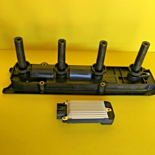 NEW IGNITION COIL ASSEMBLY AND OEM DELPHI IGNITION CONTROL MODULE FOR GM ICM