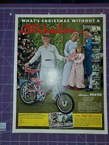 1969 Schwinn Apple Krate muscle bike Christmas magazine ad