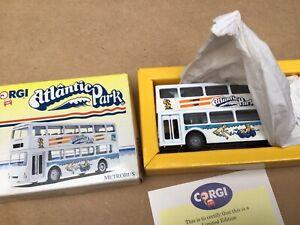 CORGI-91705-metrobus-Doppio-DECK-Bus-ATLANTIC-Park