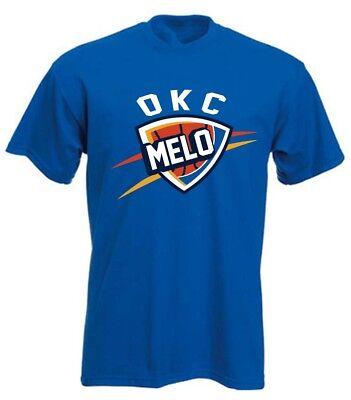 """Carmelo Anthony Oklahoma City Thunder /""""LOGO/"""" jersey shirt Hooded SWEATSHIRT"""