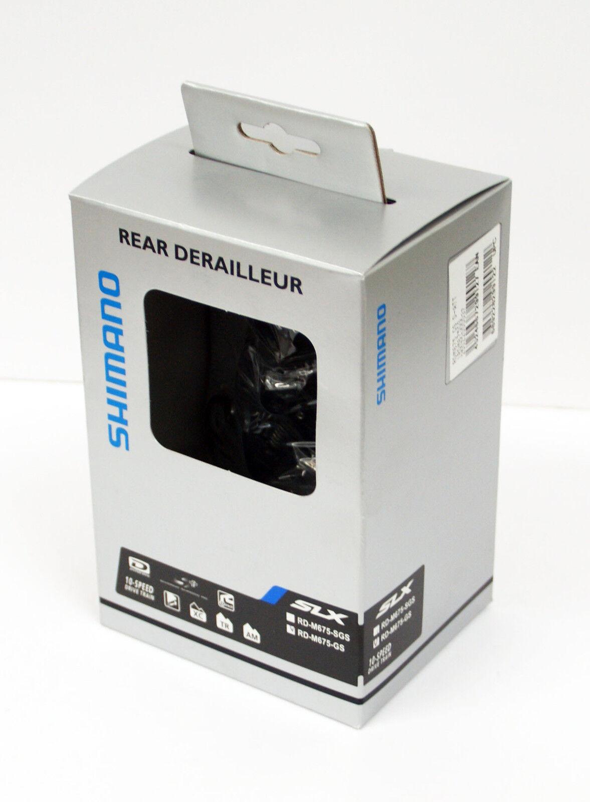 Shimano Shimano Shimano Slx RD-M675 Schaltwerk Gs (Direkt-Montage) IRDM675GS 4fd031