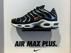 Details about Nike Air Max Plus TN SE Tuned Black Silver Orange CD1533 001 Men's Size 8 13