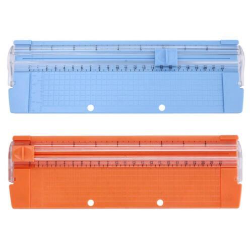 Portable A4//A5 Precision Paper Card Trimmer Cutter Cutting Mat Blade Office Kit