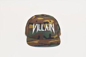 Scellerato da Vitaly-Villain Snapback Mimetico-Merce Ufficiale vitalyzdtv