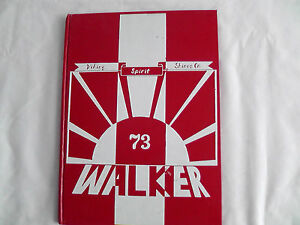 Yearbook Box #18 Walker Junior High School, La Palma, California 1973