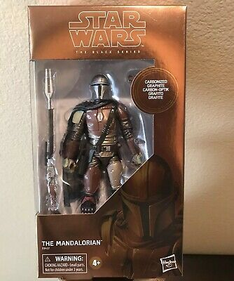 Star Wars The Black Series Carbonized Graphite The Mandalorian Target