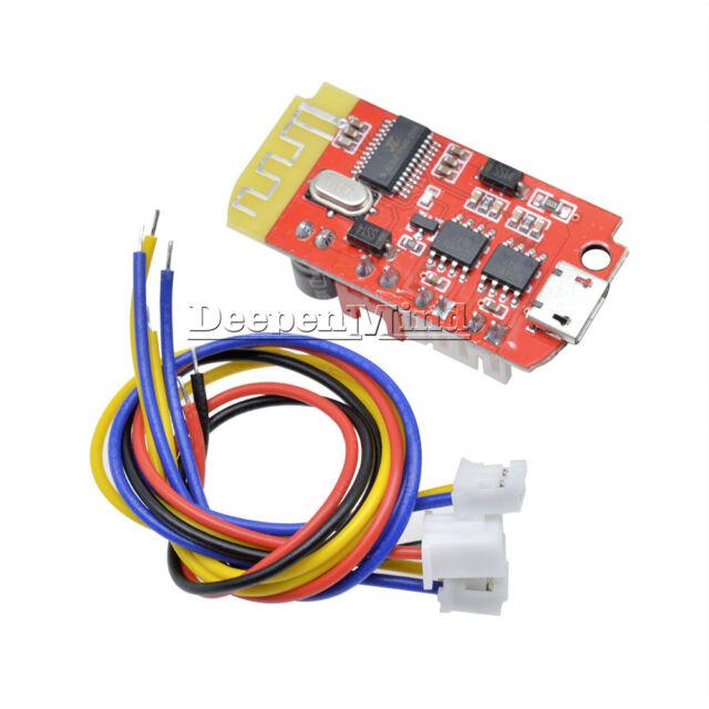 Dual Plate 3W Bluetooth Amplifier Board 3.7-5V DIY Speaker Modification Module