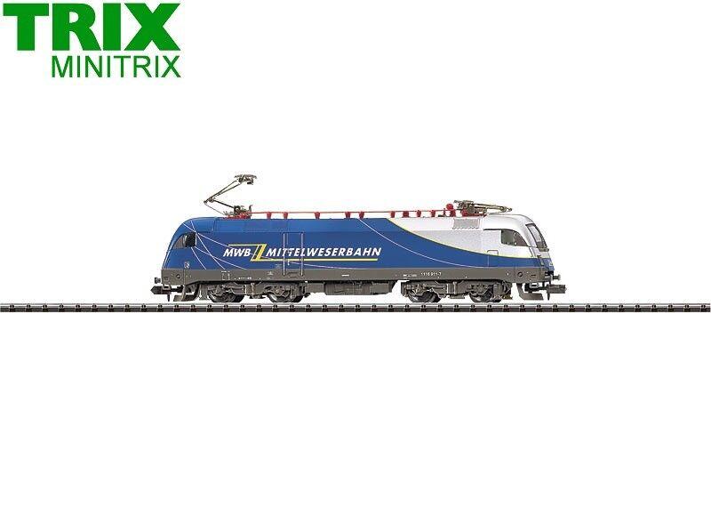 Minitrix   Trix Trix Trix N 12552 E-Lok Reihe 1116 der MWB - NEU + OVP c66dc7