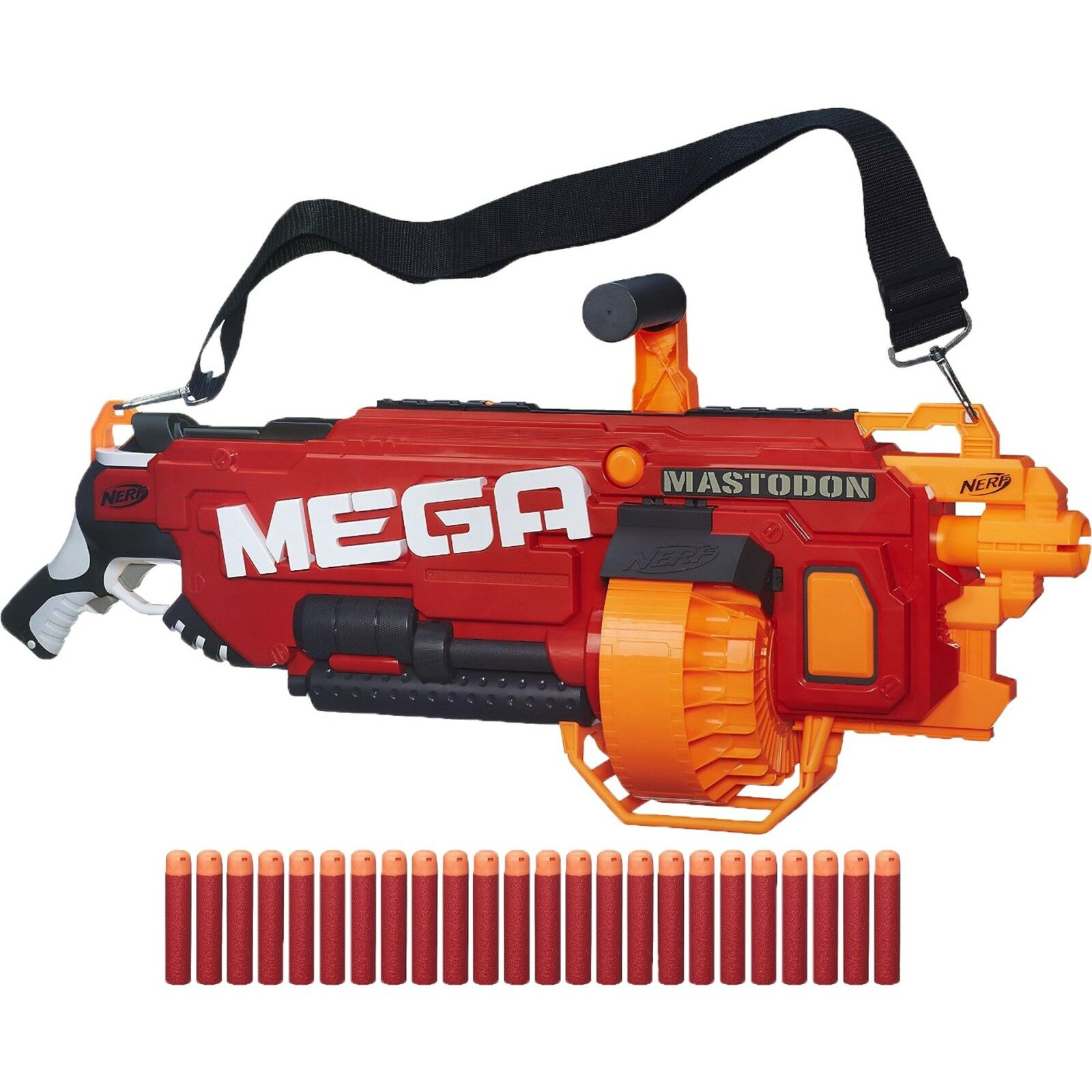 Nerf Nerf N-Strike Elite Mega Mastodon Nerf Gun rot