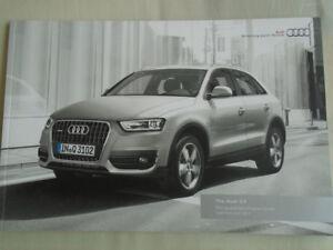 Audi Q3 Brochure Jun 2011 Ebay