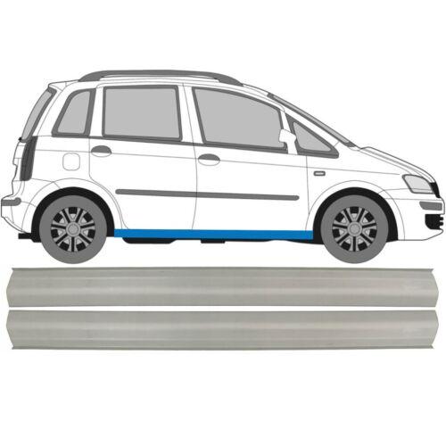 Paar Fiat Idea 2004-2011 2x Schweller Reparaturblech Rechts und Links