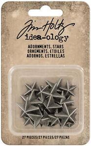 Tim-Holtz-Idea-ology-Adornments-Stars-TH93562-NEW