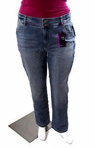 667d063fd5a Style Co Woman s Plus Size Boyfriend Jeans Denim Blue Wash 22W NWT ...