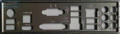 M4A89GTD PRO//USB3 ASUS I//O SHIELD BLENDE  M4A89GTD PRO M4A88TD-M EVO//USB3