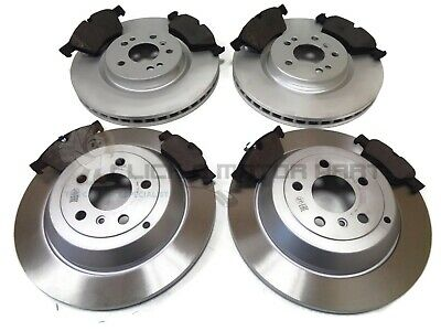 SOLID MERCEDES ML280 CDi ML320 ML350 W164 06-11 REAR 2 BRAKE DISCS AND PADS