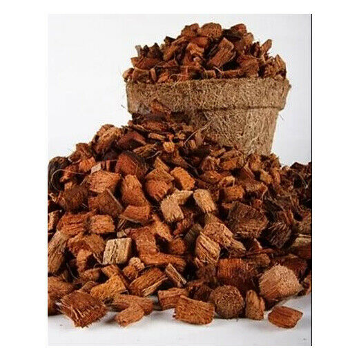 Coconut Husk Chips Dry, Small Chips for Orchids and Other Plants 1kg SriLanka