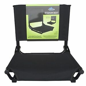 Image Is Loading Bleacher Stadium Seat Folding Chair Cushion  Portable Padded