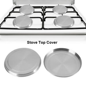 4pcs/set stainless steel kitchen stove top burner covers cooker