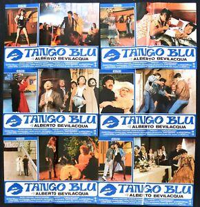 Fotobusta Tango Blau Alberto Bevilacqua Valentina Cortese Carlo Dapport R150